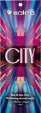 Soleo City Крем ускоритель для солярия с бронзатором с кофеином 15 мл