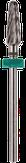 Irisk Насадка твердосплавная Т-14 (кукуруза), зеленая (крупная зернистость)