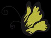 El Corazon Цветной глиттер Светло-желтый 0,1 мм нестойкие