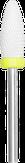 Modelon Фреза керамическая белая кукуруза, желтая № 07