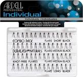 Ardell Duralash Naturals Knot-Free Flairs Combo Pack Black Пучки ресниц безузелковые комбин. черные