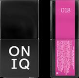 ONIQ Гель-лак для ногтей PANTONE 018, цвет Carmine Rose OGP-018