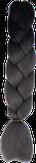 HIVISION Канекалон для афрокосичек черный/темно-серый # 29