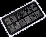 ONIQ Пластина для стемпинга Echo: Avantgarde 1