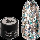 ONIQ Fractal Гель-лак для ногтей с крупными блестками Shadow 5 мл.