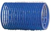Dewal Бигуди-липучки, синие 40 мм. 12 шт. R-VTR3