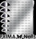 Prima Nails Металлизированные наклейки CL-011, Серебро