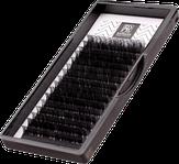 Barbara Ресницы черные Elegant, MIX, изгиб С, диаметр 0.06, длина 7-12 мм.