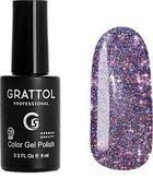 Grattol Гель-лак светоотражающий Bright - Cristal 03