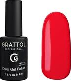 Grattol Гель-лак №083 Pure Red