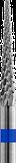 Кристалл Фреза твердосплавная с средней нарезкой, конус 2,3*15 мм.