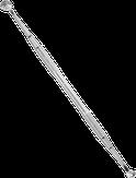 Сталекс Ложка косметологическая двусторонняя EXPERT 20 TYPE 2 (Уно + кругл. шумовка 19 отверстий)