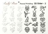 Lucky Rose Слайдер-дизайн 3D Slider-2
