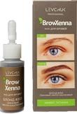 BrowXenna Хна для бровей, цвет № 203 ореховый, светло-каштановый (флакон)