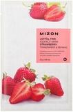 Mizon Joyful Time Essence Mask Strawberry Тканевая маска для лица с экстрактом клубники 25 мл