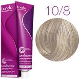 Londa Color Стойкая крем-краска 10/8 яркий блонд жемчужный 60 мл.