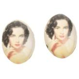 Irisk Декоративные элементы для декупажа броши, цвет Элизабет