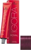 Schwarzkopf Igora Royal 9-98 Блондин фиолетовый красный 60 мл.