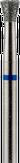 Modelon Фреза алмазная обратный конус, D3,3 мм. синяя, средняя зернистость 806.010.524.033