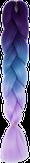 HIVISION Канекалон для афрокосичек фуксия/темно-голубой/сиреневый # 56