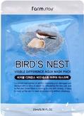FarmStay Тканевая маска для лица увлажняющая с экстрактом ласточкиного гнезда