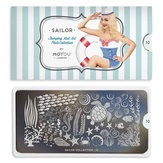 MoYou London Пластина для стемпинга Sailor 10