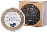 Petitfee Гидрогелевые патчи под глаза с золотом и пудрой черного жемчуга 60 шт. Black Pearl & Gold Eye Patch