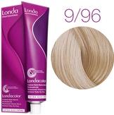 Londa Color Стойкая крем-краска 9/96 очень светл блонд сандрэ фиолетовый, 60 мл.