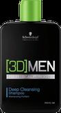 Schwarzkopf 3D Men Deep Cleansing Shampoo Шампунь для глубокого очищения 250 мл. 264463
