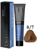 Estel Professional De Luxe Стойкая крем-краска 8/7, 60 мл.