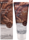 3W Clinic Пенка очищающая с экстрактом бурого риса Brown Rice Cleansing Foam 100 мл.