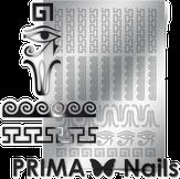 Prima Nails Металлизированные наклейки OR-003, Серебро