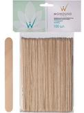 "Italwax Шпатели деревянные ""Стандарт"" 1,4x14 см 100 шт."