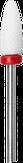 Modelon Фреза керамическая белая кукуруза, красная, мелкая насечка
