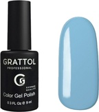 Grattol Гель-лак №015 Ваву Blue