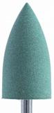Soline Charms Полировщик силиконовый конус заостренный D10,0 зеленый, мягкий 410