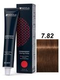 Indola Red&Fashion 7.82 Крем-краска Средний русый шоколадный перламутровый 60мл