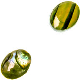 """Irisk Декоративные элементы """"Кошачий глаз"""" №02 Нефритовый овальный"""