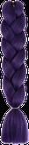 HIVISION Канекалон для афрокосичек темно-фиолетовый А34