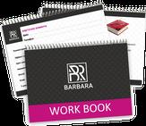 Barbara Work Book Рабочая книга мастера черная
