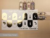 Lucky Rose Слайдер-дизайн Crystal puzzle gold-5