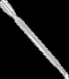 Сталекс Лопатка маникюрная EXPERT 30 TYPE 4.1 (скругленный пушер+отогнутая лопасть, для левши) PE-30/4.1