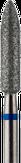 Владмива Фреза алмазная цилиндр, D3,1 мм, синяя, средняя зернистость 806.274.524.031
