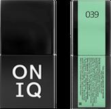 ONIQ Гель-лак для ногтей PANTONE 039, цвет Paradise green