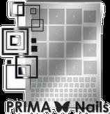 Prima Nails Металлизированные наклейки GM-03, Серебро