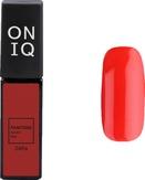 ONIQ Гель-лак для ногтей PANTONE 046s, цвет Aurora red OGP-046s
