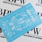 BPW Style Слайдер дизайн градиент Цветы и листья