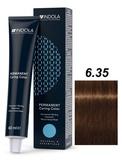 Indola Natural&Essentials 6.35 Крем-краска Темный русый золотистый махагон 60мл
