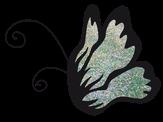 El Corazon Цветной глиттер Мятный мелкий 0,1 мм нестойкие
