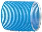 Dewal Бигуди-липучки, голубые 55 мм. 6 шт. R-VTR15